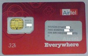 Airtel Sim Card